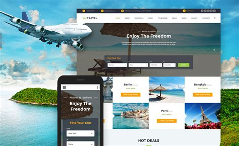 templates for travel website free download 10 mobile friendly travel tourism website templates