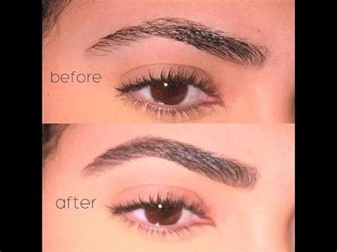 Nyx Brow Powder eyebrow tutorial using nyx eyebrow cake powder