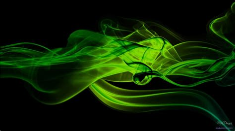 green and black abstract wallpaper 1366x768 10615