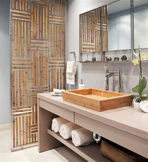bamboo bathroom ideas du bambou d 233 co pour un int 233 rieur original et moderne 224