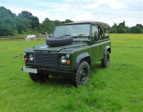 land rover defender convertible for sale 1986 land rover defender 90 right drive diesel