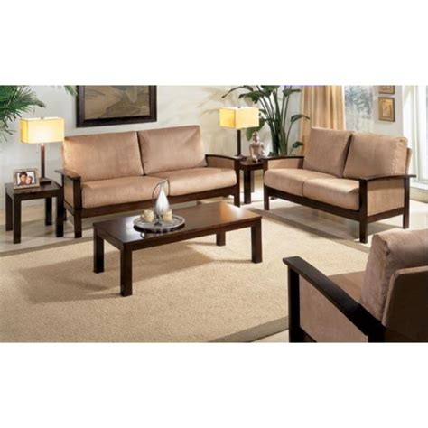 Wooden Sofa by Wooden Sofa Set Solid Sheesham Wood Rightwood Furniture