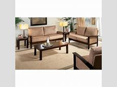 Wooden Sofa set - Solid sheesham wood - Rightwood furniture Wooden Simple Sofa Chair