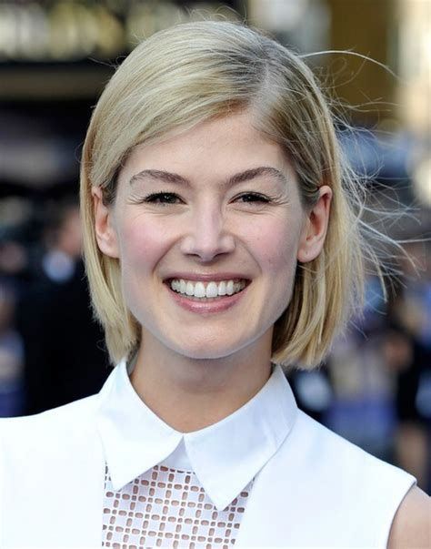 bob haircuts rosamund pike 100 hottest short hairstyles haircuts for women