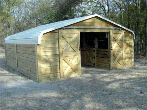 how to build a barn from a carport nurtured ground