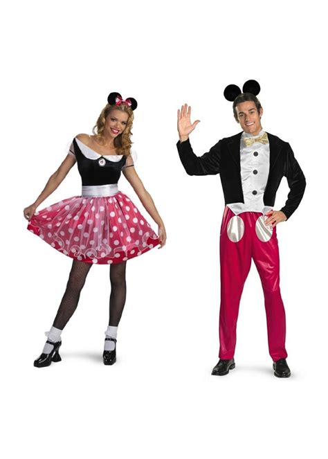 Dress Micky mickey and minnie mouse couples costumes disney costumes
