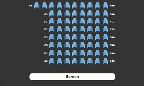 Movie Floor Plans by Dorking Halls Seating Plans