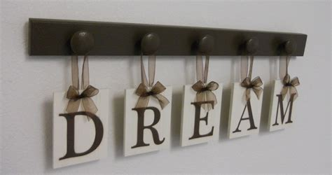Dream Sign Wall Decor Hanging Wall Letter Sign By Nelsonsgifts