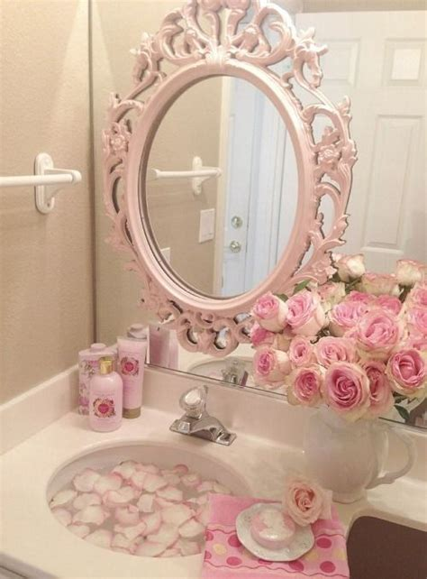pink bathroom mirror best 25 girl bathroom decor ideas on pinterest girl