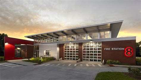 fire house design fire station 8 st pete mccants architecture ta architect and design