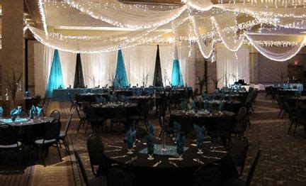 turquoise and black reception decor decorations receptions wedding theme