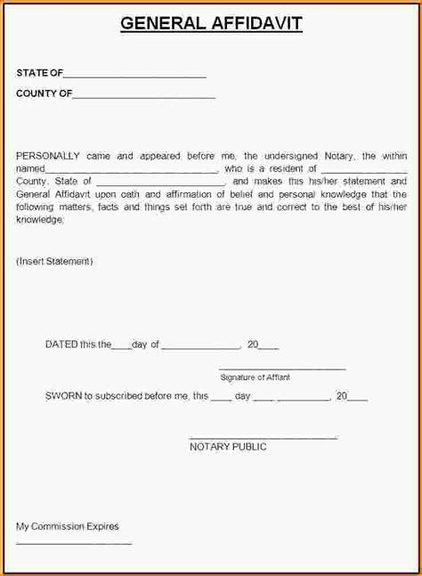 court affidavit template blank affidavit forms affidavit form jpg loan