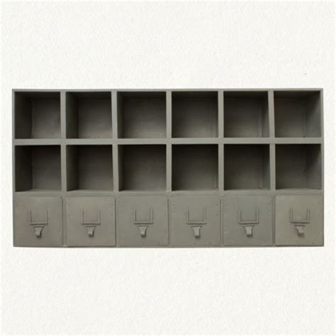 wall cubbies zinc wall cubbies display and wall shelves by terrain
