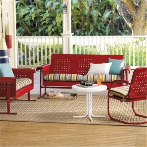 retro outdoor furniture collection traditional patio