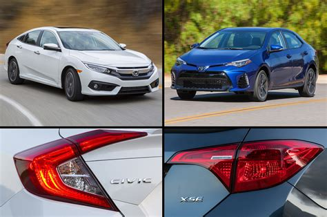 honda civic and toyota corolla 2017 toyota 86 look review motor trend
