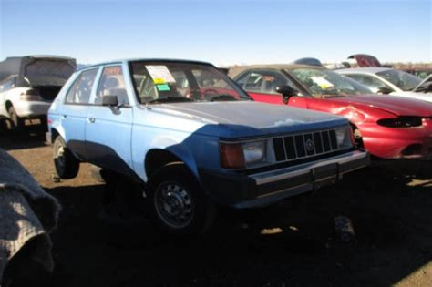 how do cars engines work 1978 plymouth horizon engine control junkyard find 1990 plymouth horizon the truth about cars