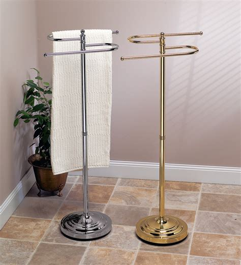 free standing towel stands for bathrooms bathroom standing towel rack exles for better