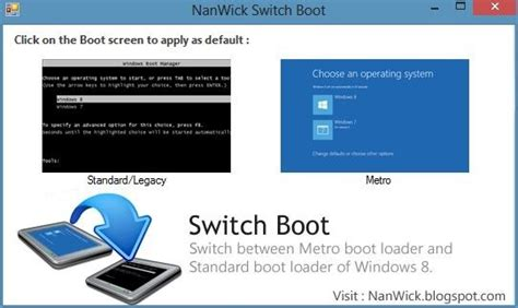 install windows 10 bootloader windows 8 switch boot cambiare il boot loader di windows