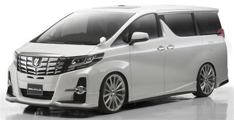 Cover Mobil Indoor Toyota Alphard toyota alphard and vellfire gets wald sports line kits