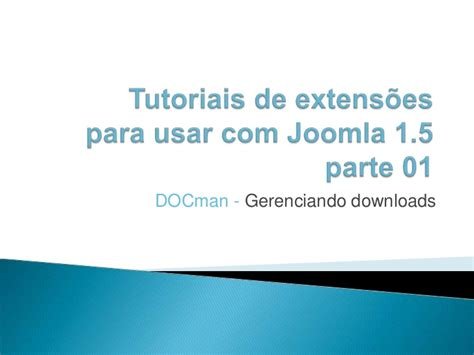 tutorial videopad em portugues tutorial docman em portugues