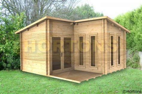 4x4 alton l shaped cabin 28mm logs hortons portable