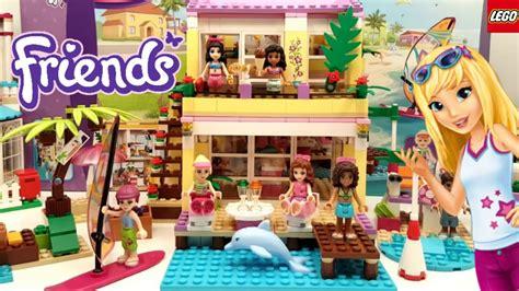 lego friends beach house lego friends stephanie s beach house building review 41037