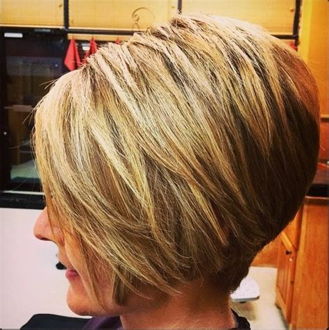 graduated bobs for long fat face thick hairgirls textured a line bob haircut for women thicker hair bob