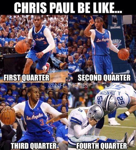 Chris Paul Memes - chris paul be like sports memes pinterest
