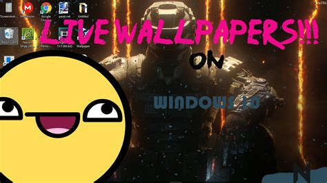 live wallpaper for pc youtube how to get live wallpapers on pc youtube