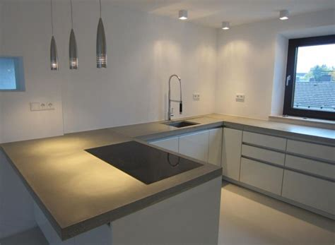 Beton Küchenarbeitsplatte by Arbeitsplatte Beton Kueche Ideen Dogmatise Info