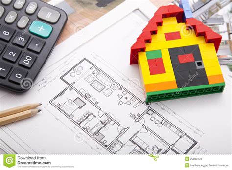 home improvement plan royalty free stock photos image