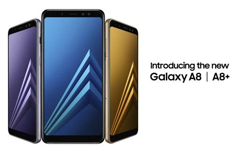 Samsung A8 Samsung S Awesome 2018 Galaxy A8 Even Has A Dual Lens On The Front