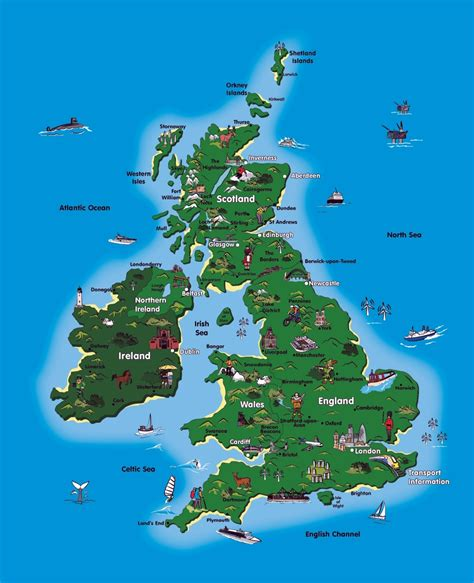 travel destination maps maps update 800900 map of ireland with tourist
