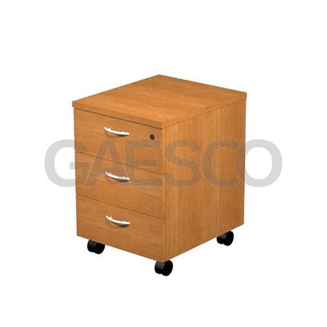 cassettiere per scrivanie cassettiera scrivanie su ruote cm 43x52x60 montata