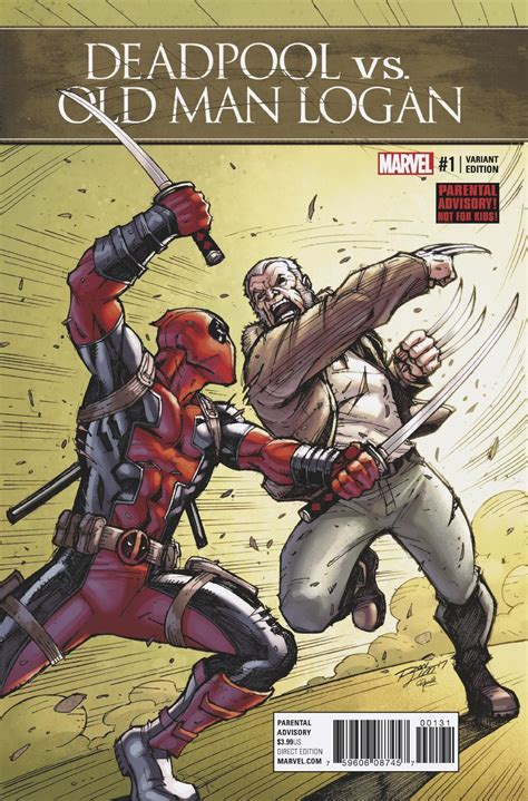 deadpool vs logan deadpool vs logan 1 lim cover fresh comics
