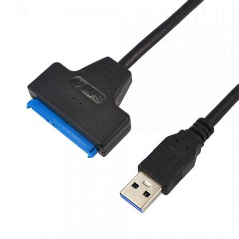usb 3 0 to sata 22 pin cable adapter converter for 2 5 quot hdd disk