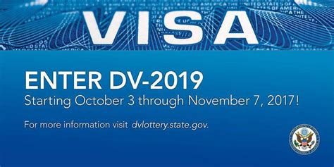 Diversity Mba Admissions Conference by Usa Diversity Immigrant Visa Program Dv 2019 Lottery