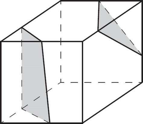 polygonal cross section three dimensional figures three dimensional figures