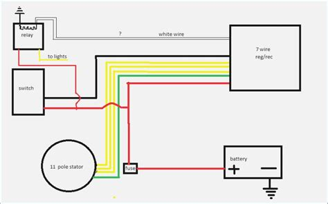 6 wire rectifier wiring diagram wiring diagrams wiring