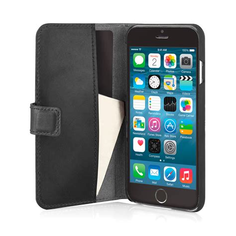 iphone   iphone   classic wallet case black