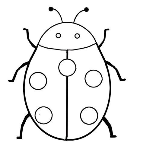 coloring pages of ladybug ausmalbilder f 252 r kinder malvorlagen und malbuch