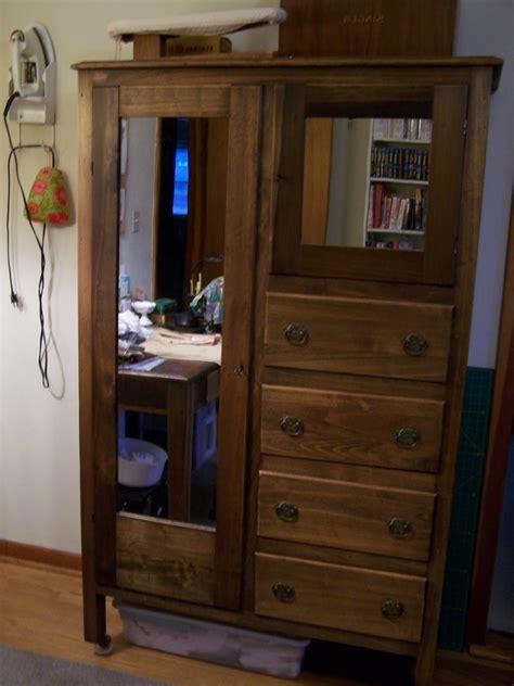 ideas  dark wood wardrobes  mirror