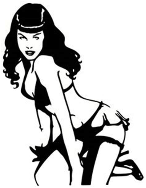 Betty Page Stickers