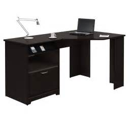 Small Corner Desk With Chair Small Corner Wood Home Office Desk Painted With Black