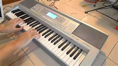 Keyboard Casio 6 Oktaf Casio Ctk 810in Sound Test
