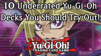 deck ideas yugioh 10 underrated yu gi oh deck ideas 2013 edition