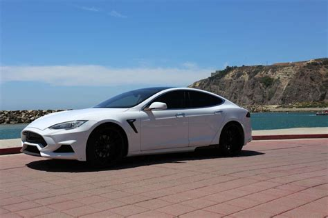 Tesla Model S White White Tesla Model S Elizabeta From Larte Design