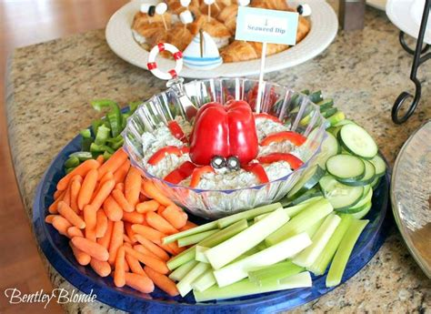 Dips For Baby Shower by Seaweed Dip For Nautical Baby Shower The Sea