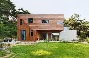 korean home design sles modern countryside residence in south korea living knot