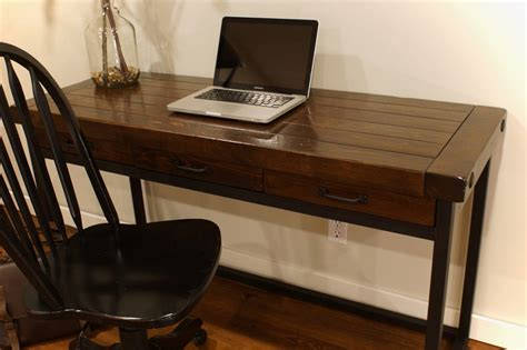 wood and iron desk wood iron desk in calgary alberta liken woodworks